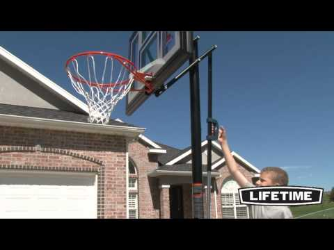 Lifetime Portable Basketball Ball Hoop (Model 51550)