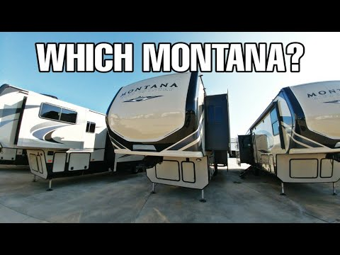 Montana and Montana High Country Fifth Wheel RVs. Differences