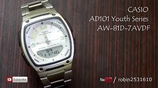 casio ad101 youth series aw 81d 7avdf review