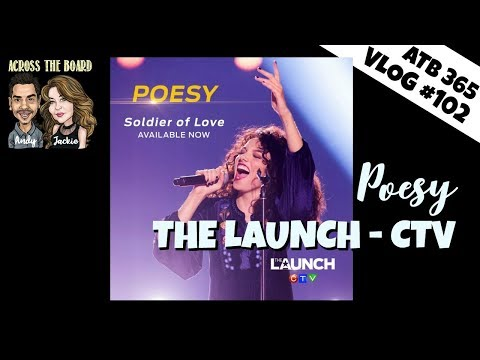 ATB 365 #102 Poesy on The Launch - Soldier of Love Launched