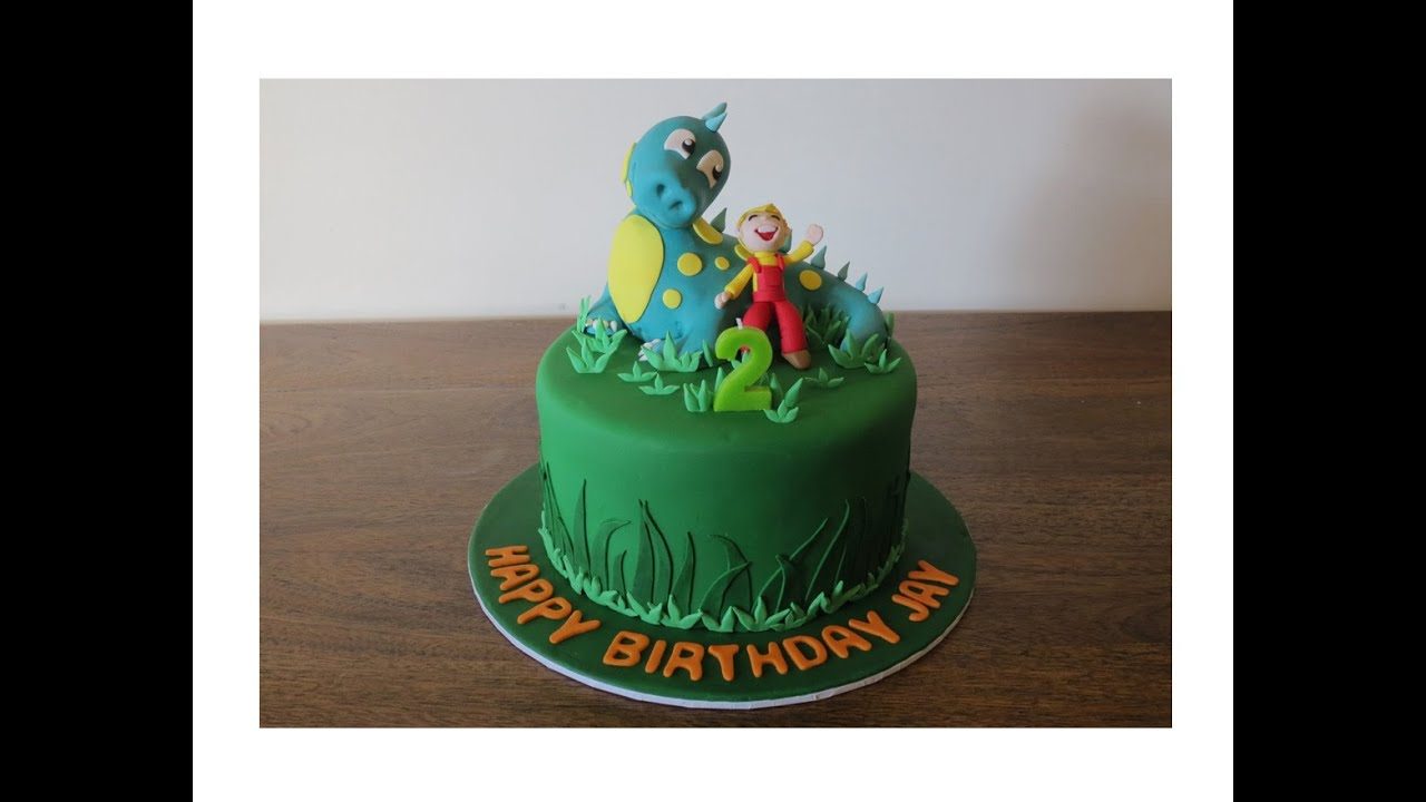 Dinosaur Cake Tutorial Youtube