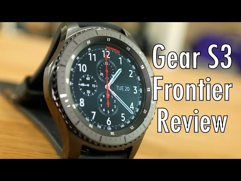 Samsung Gear S3 Frontier Review: The smartwatch final frontier!