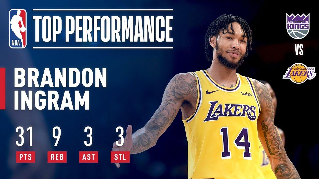 aff05efab1b Los Angeles Lakers: LeBron James has partner in Brandon Ingram