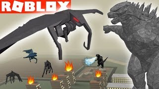 We form a MUTO CLAN in GODZILLA Monsters Awakened ROBLOX Video Game YG Family Gaming
