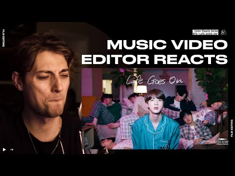 Video Editor Reacts to BTS 'Life Goes On' Official MV