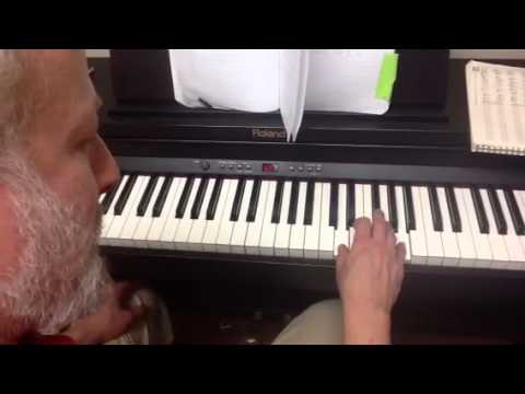 Heard It in a Love Song Marshall Tucker Band piano solo tut