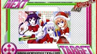 Gochiusa:Rize+Kokoa+Chino Mega Kawaiiii X-mas HD Render