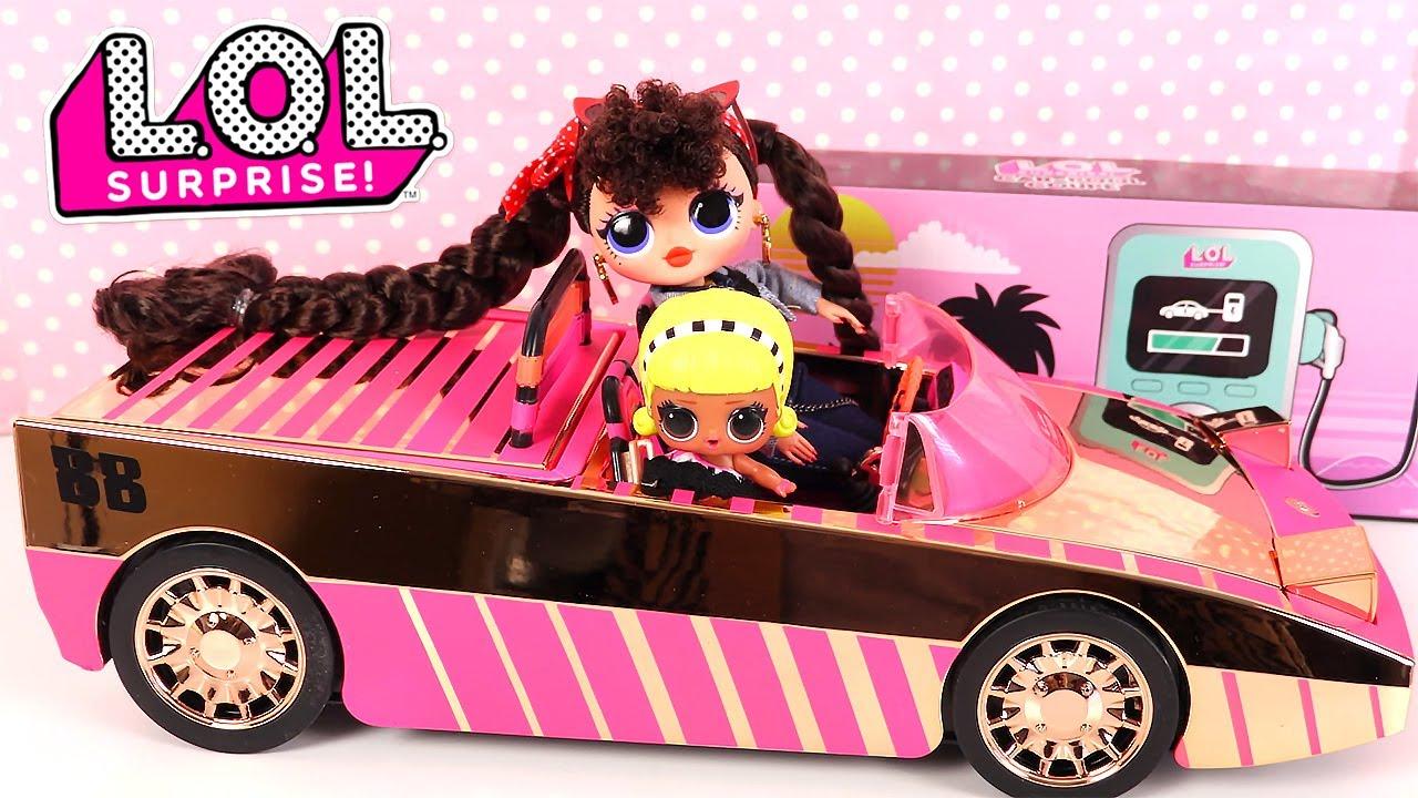 video La voiture LOL Surprise : des poupées LOL qui prennent la route !