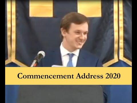 John Handley | Commencement Address 2020 | Cambridge South Dorchester High School
