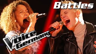 Tom Walkers - Leave A Light On (Matthias Nebel vs. Katiuska McLean) | The Voice of Germany | Battles