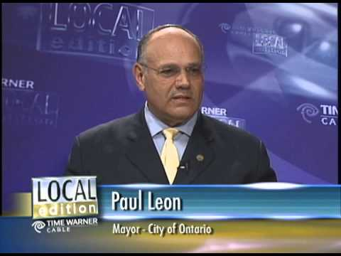 Paul Leon, Mayor, City of Ontario