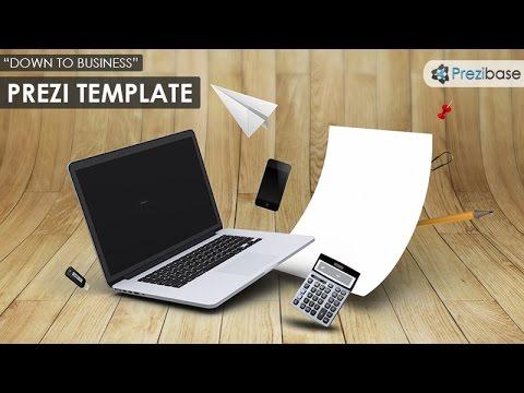 powerpoint templates like prezi - down to business 3d prezi template youtube