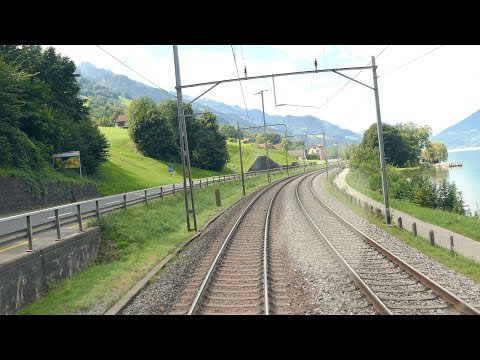 ★ 4K Cab ride Chur - Zürich, Switzerland [09.2016]