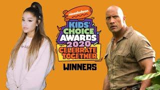 Nickelodeon's Kids' Choice Awards 2020 Winners
