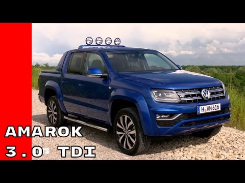 2016 VW Amarok 3.0 TDI V6 Aventura