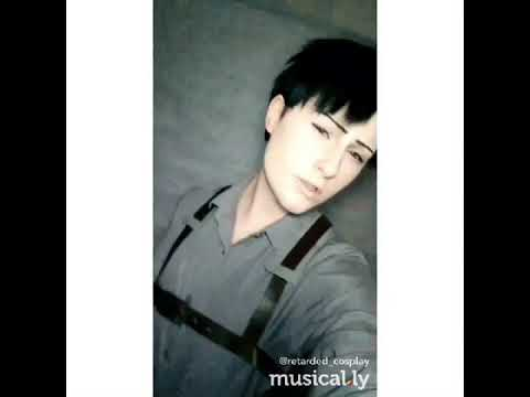 Levi Ackerman Musical.ly Cosplay