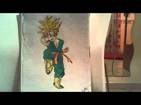 I migliori disegni di dragon ball youtube for Migliori disegni di cantina