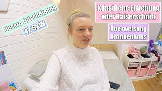 Einleitung oder Kaiserschnitt? 😳 Überweisung ins Krankenhaus | Isabeau