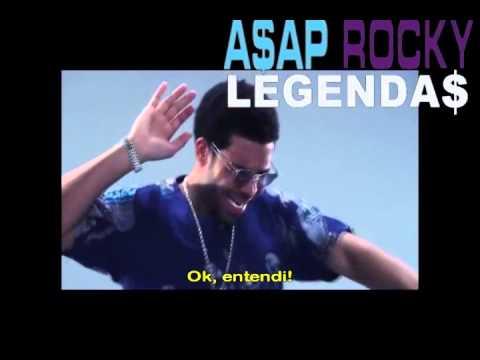 A$AP Rocky Feat 2 Chainz, Drake & Kendrick Lamar - Fuckin Problems Legendado