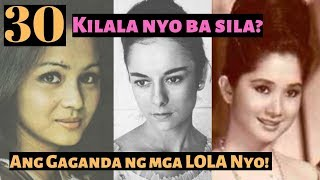 Classic Filipina Celebrities THEN and NOW PART 1