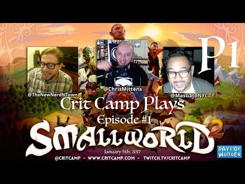 Crit Camp Small World 2 EP1 - P1
