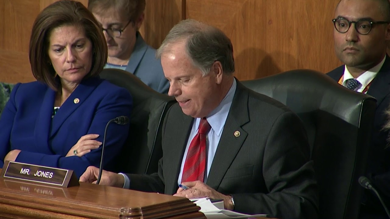Senator Jones Questions HUD Sec. Carson on Disparate Impact Proposal at Senate Banking Hearing