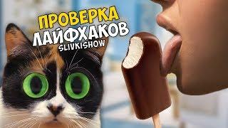 3 ЛАЙФХАКА от SLIVKI SHOW - Проверка Лайфхаков