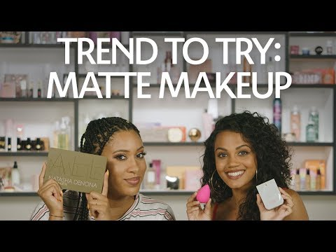 Trend To Try: Matte Makeup | Sephora
