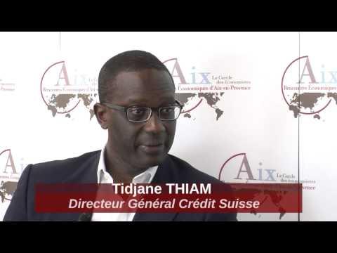 Tidjane THIAM, Directeur Général de Crédit Suisse