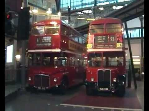 London Transport Museum at Covent Gardens (12th January 2013)