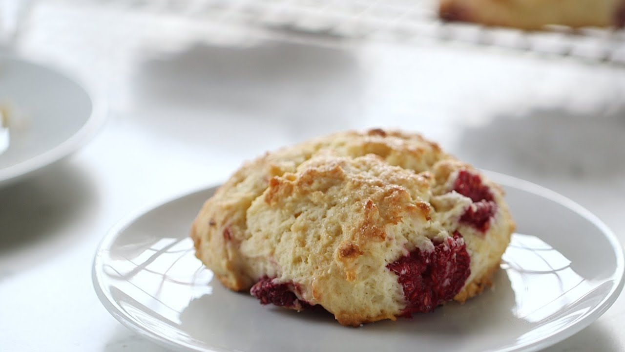 Fast Raspberry Scones Everyday Food With Sarah Carey