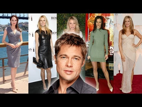 Brad Pitt Girlfriend's [1984 - 2018]