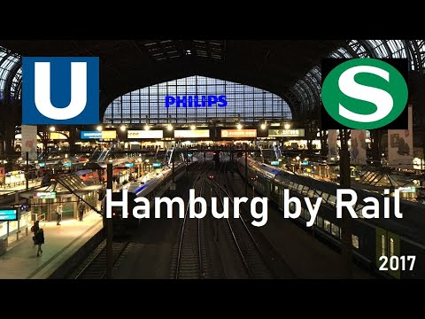 Hamburg by Rail // U-Bahn & S-Bahn // February 2017
