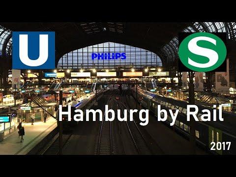 🚊RAIL🚊 Hamburg by Rail // U-Bahn & S-Bahn // February 2017