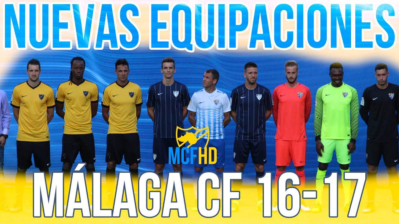 4eb11f3dfac17 Presentación de las nuevas equipaciones Málaga C.F. 16-17