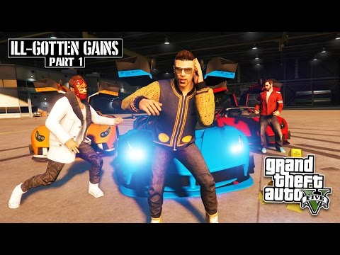 GTA 5 NEW Ill Gotten Gains: Part 1 DLC Update! NEW Supercar, Clothes & Weapons! (GTA 5 PC Gameplay)