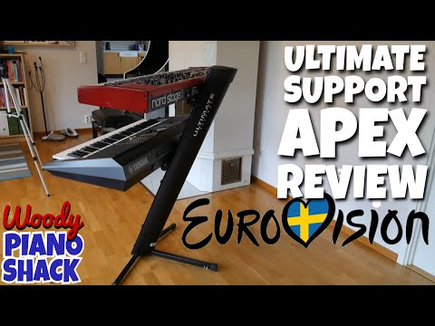 EUROVISION SPECIAL! Ultimate Support APEX AX-48 PRO pickup, unboxing, assembly & review