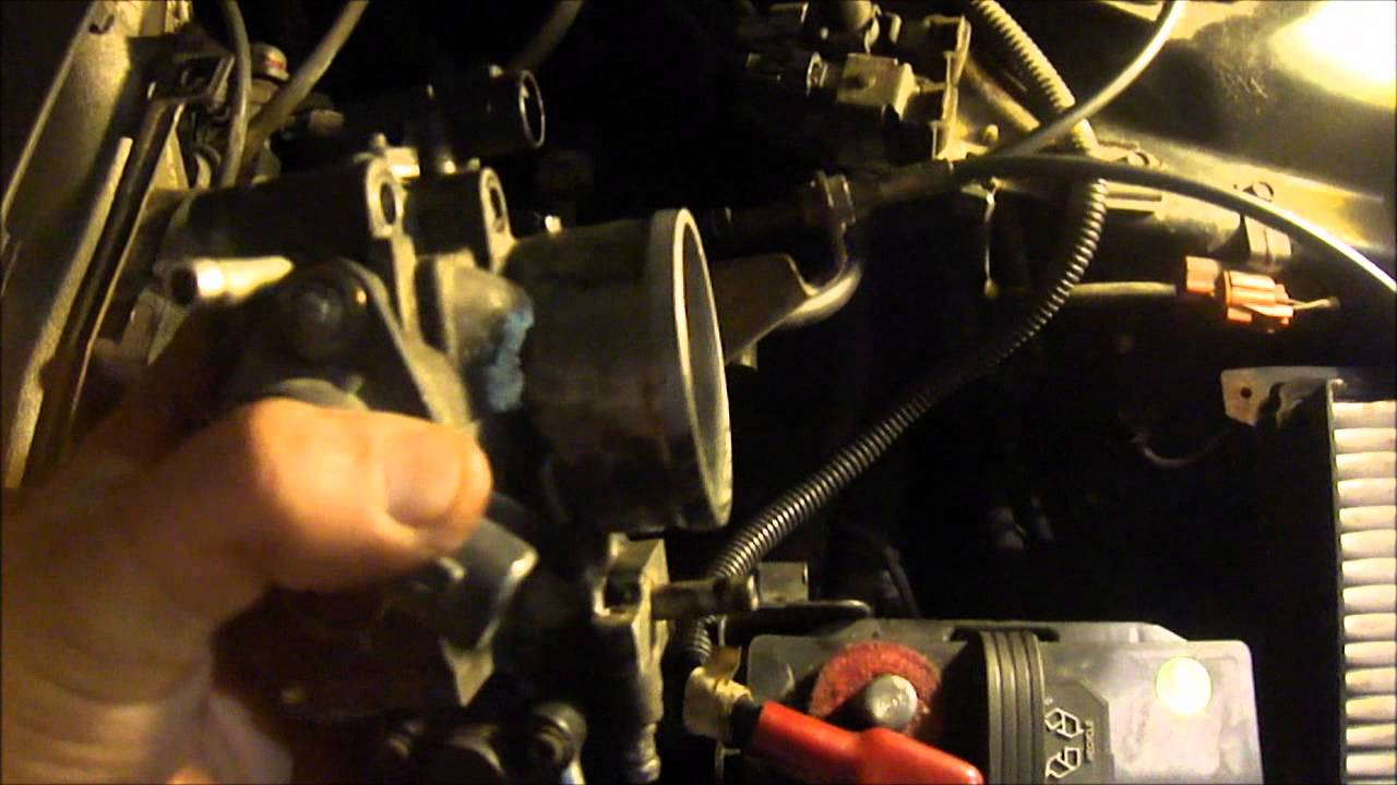 hight resolution of honda iac valve cleaning or replacements honda accord 2000 ex v6 idling issue youtube