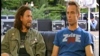 Interview pt 1 (Pearl Jam, Berlin 2009)