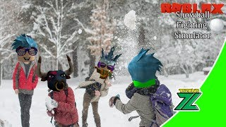 ROBLOX Indonesia | Snowball Fighting Simulator | Stumed Boal Snow continues!!! 😱