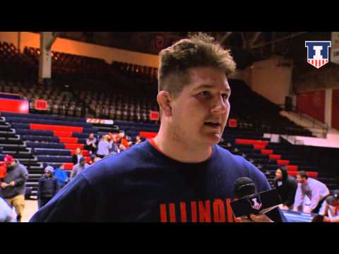 Brooks Black vs Maryland Post Meet Interview 1/30/15