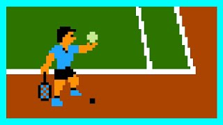 Tennis NES Level 5 (hard)