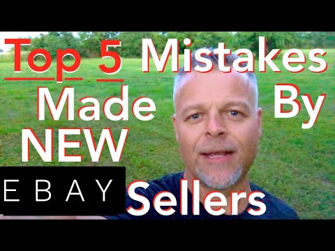 Selling on eBay for Beginners. TOP 5 MISTAKES Made by New Sellers When Listing on eBay 2018