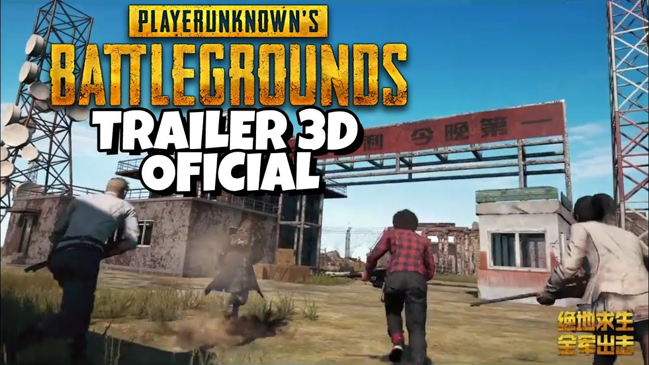 Pubg Mobile Trailer 3d Cinematic Oficial Playerunknown S