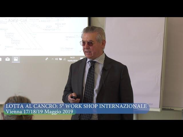 VIENNA 5° WORK SHOP INTERNAZIONALE 17-18-19 MAGGIO( PARTE FINALE) LA CINETICA DEGLI ENZIMI
