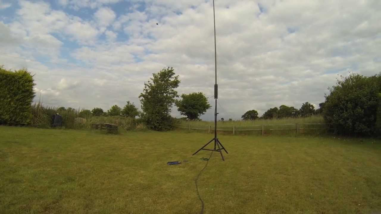 The Military Green Stick Antenna Counterpoise Experiment - M0VST [HD]