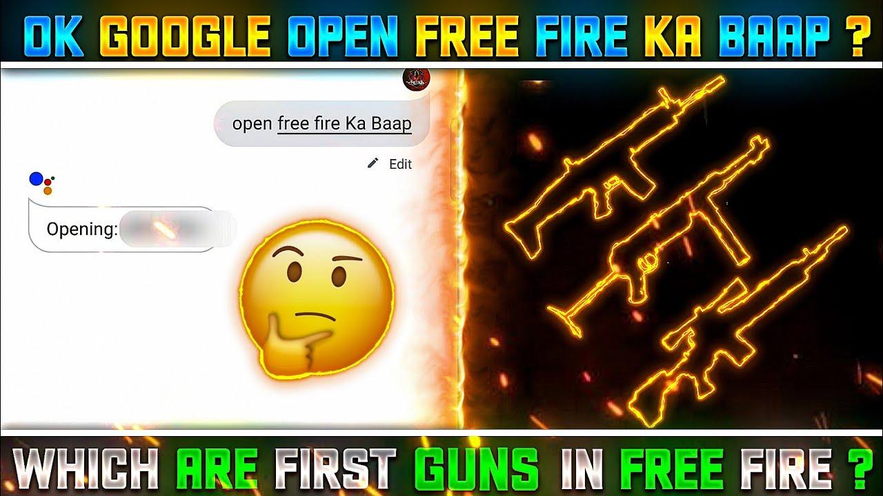 OK GOOGLE OPEN FREE FIRE KA BAAP    TOP MYSTERIOUS FACTS - GARENA FREE FIRE