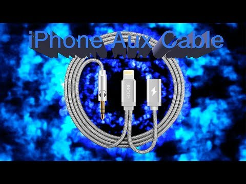 iPhone Aux Cable