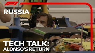 Fernando Alonso's Seat Fit at Renault: What Can We Learn? | Tech Talk | 2020 Russian Grand Prix