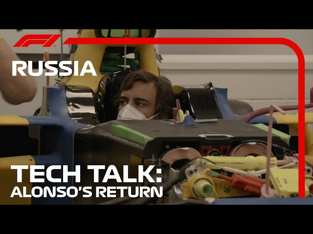 Fernando Alonso's Seat Fit at Renault: What Can We Learn?   Tech Talk   2020 Russian Grand Prix